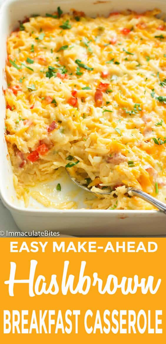 Hashbrown Breakfast Casserole.