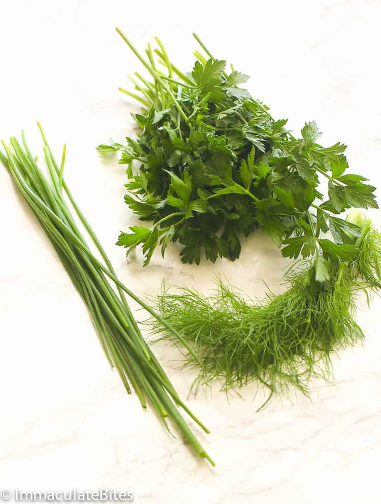 Homemade Ranch Dressing Fresh Herbs