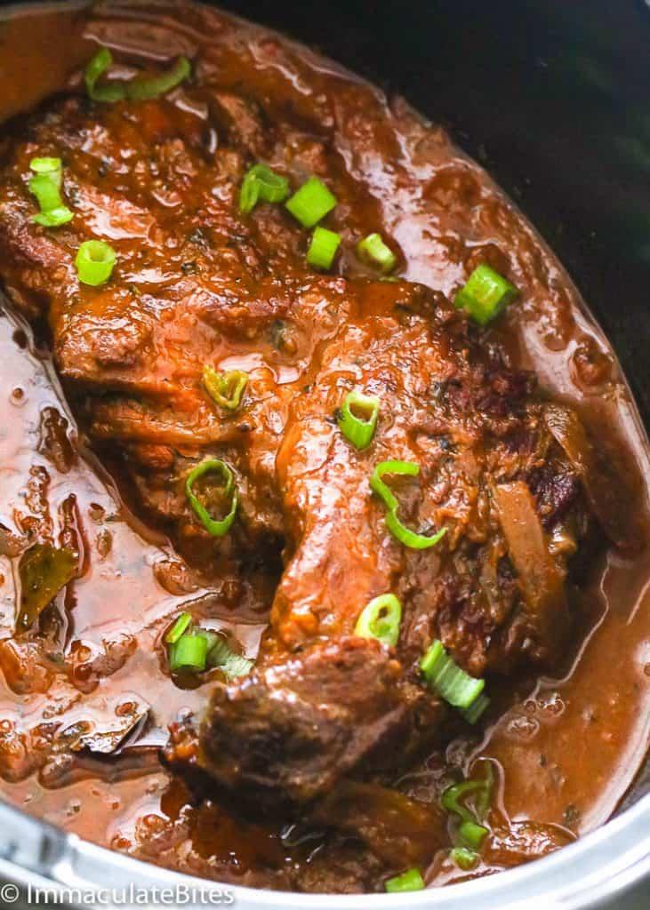 Slow Cooker Beef Brisket - Immaculate Bites