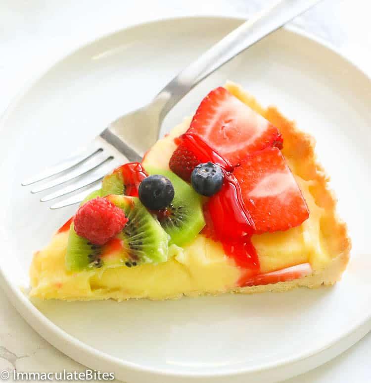 A Slice of Fruit Tart
