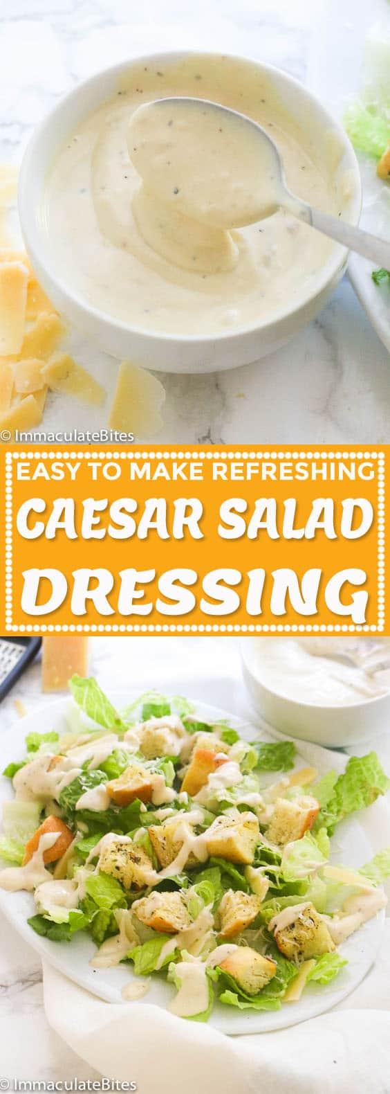 Caesar Salad Dressing Immaculate Bites