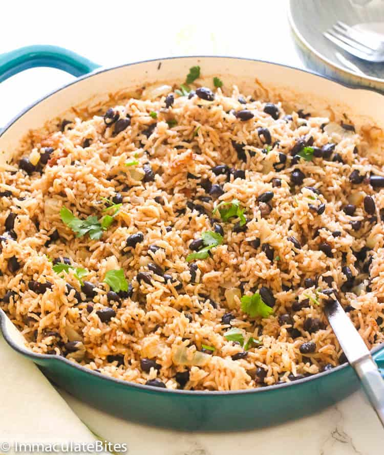 Black Beans And Rice Immaculate Bites