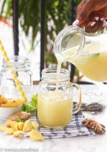 Homemade Ginger Juice