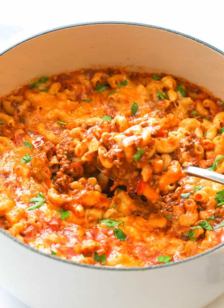 American Goulash in a Pot