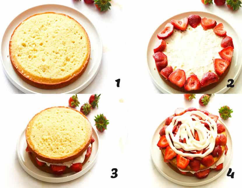 Strawberry Shortcake. step 5