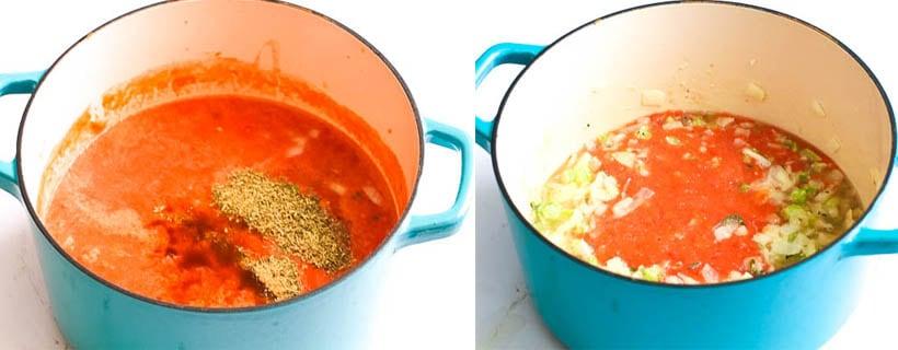 Tomato Bisque. step 2