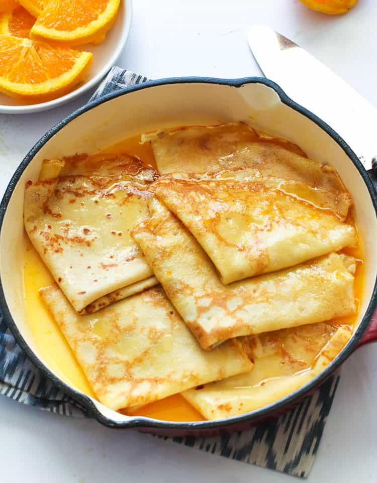 Crepe Suzette Immaculate Bites