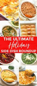 Easy Holiday Side Dishes