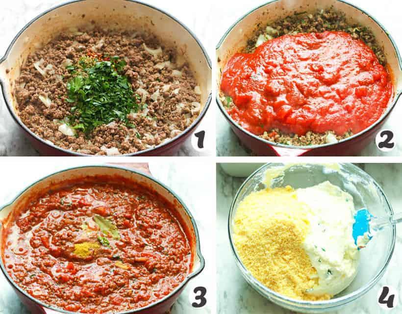 Easy Lasagna Meat Filling