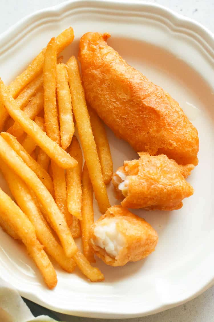 Beer Battered Fish and Fries