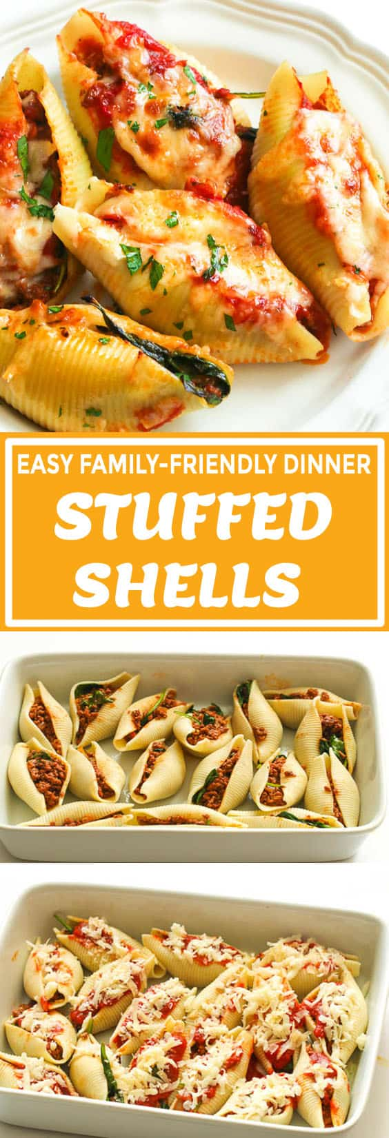 Stuffed Shells with Meat