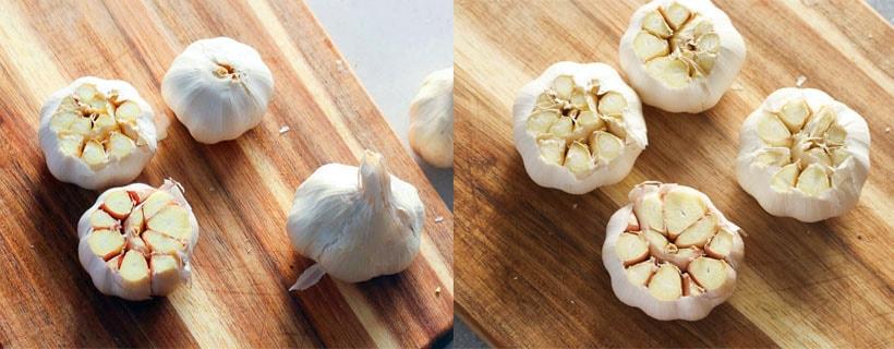 How To Roast Garlic. Step 1