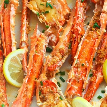 Baked Crab Legs