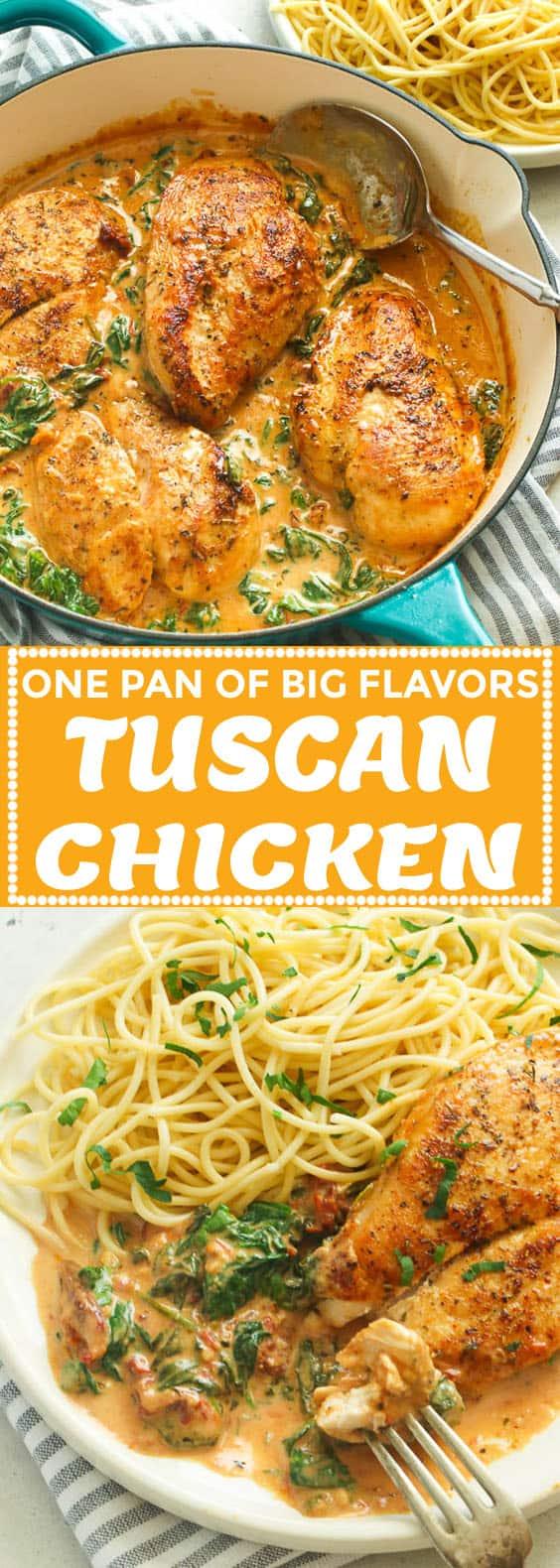 Tuscan Chicken Recipe