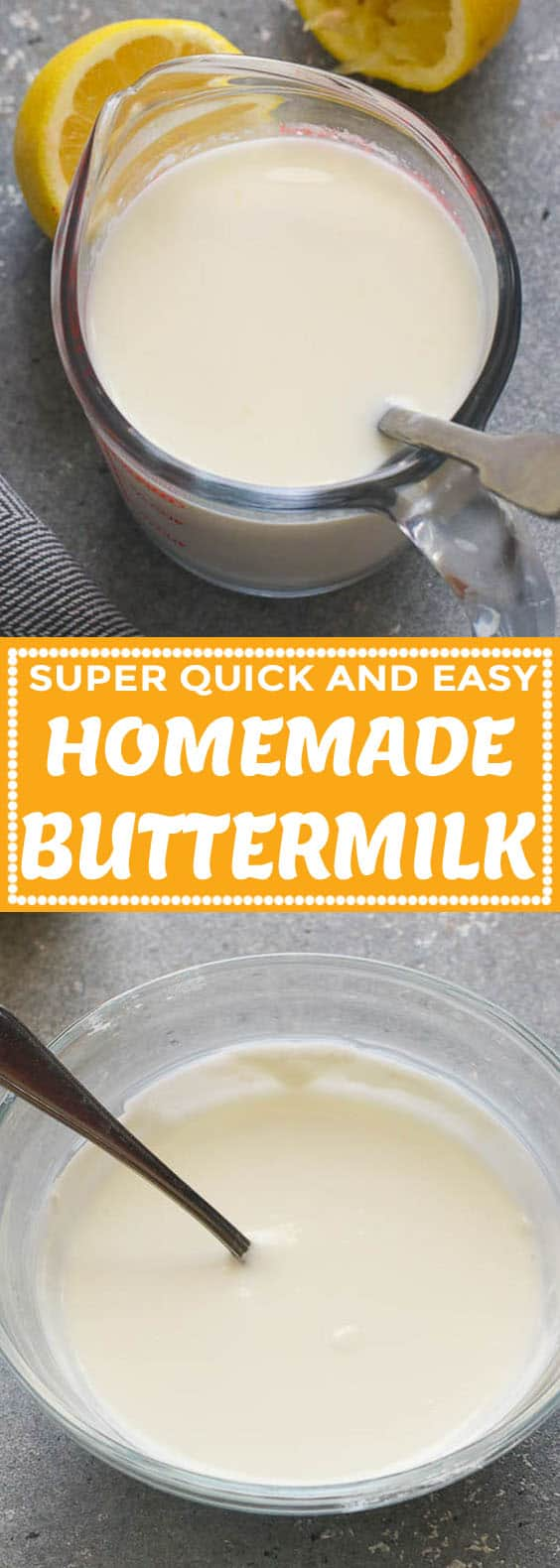 How to Make Buttermilk