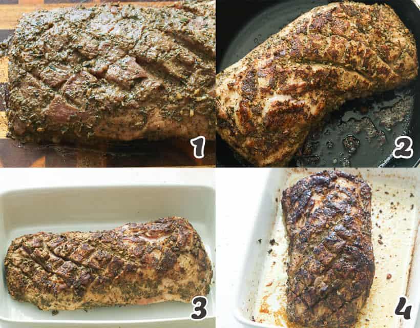 Herb Crusted Pork Loin Roast