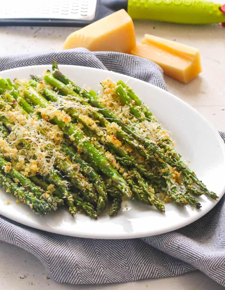 Parmesan Crusted Baked Asparagus