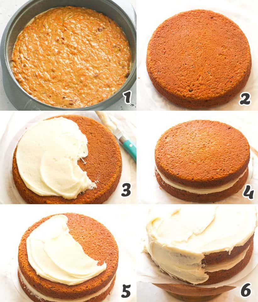 Carrot Cake Assembly