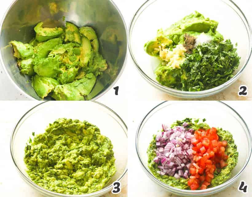 Easy Homemade Guacamole