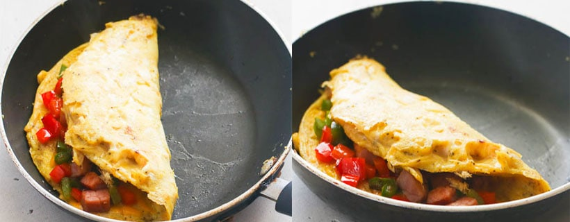 How to Fold an Omelette