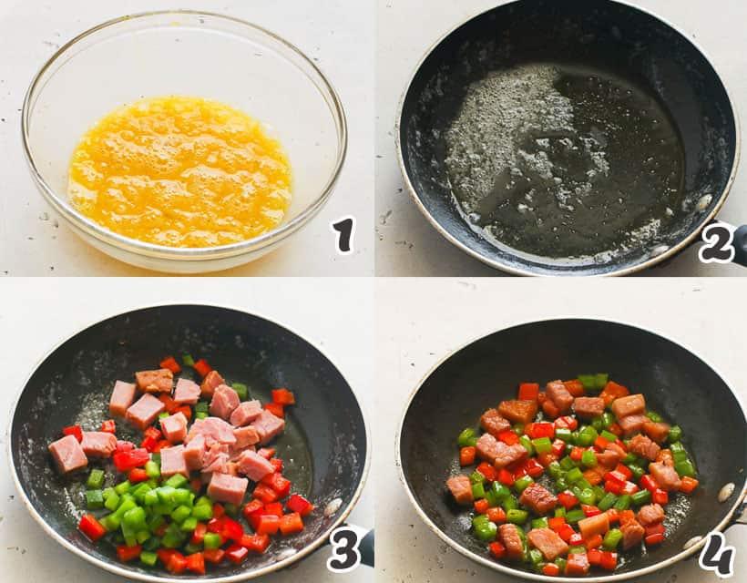 Ham Mixture