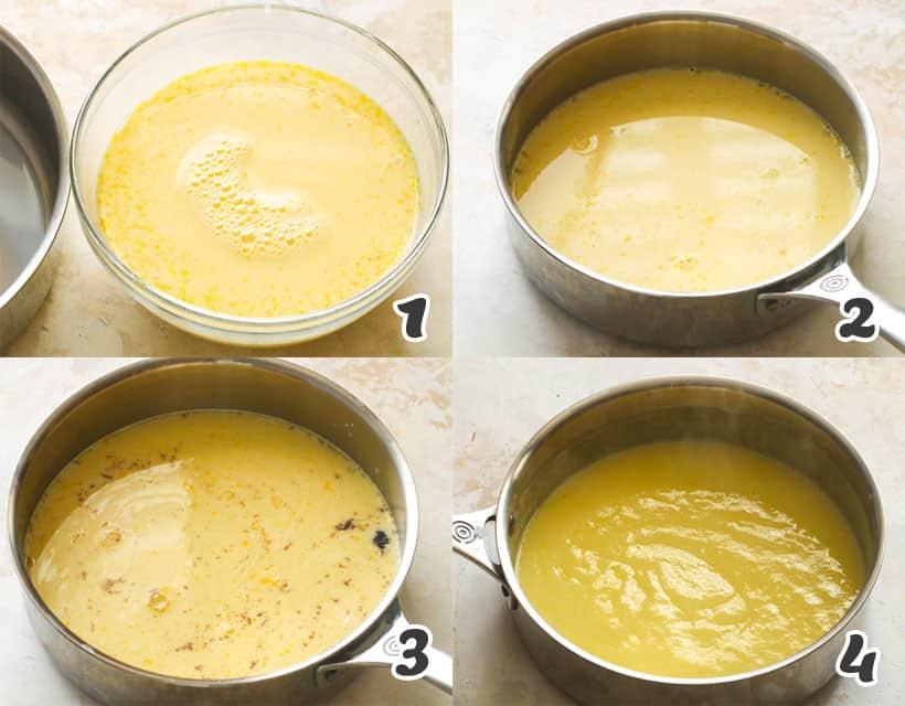 How To Make a Vanilla Custard