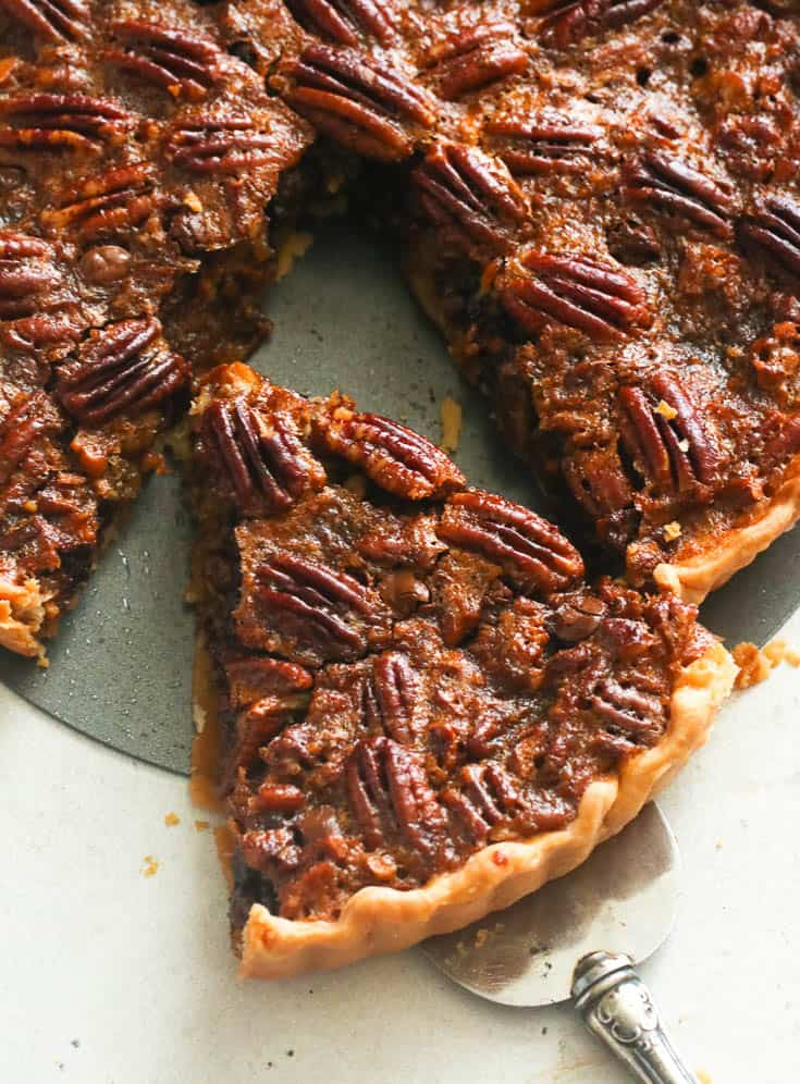 Pecan Pie with Chocolate Chips