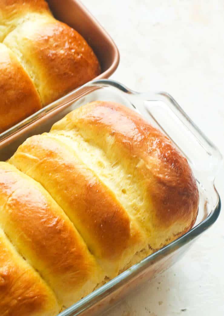 Homemade Brioche Bread and Rolls