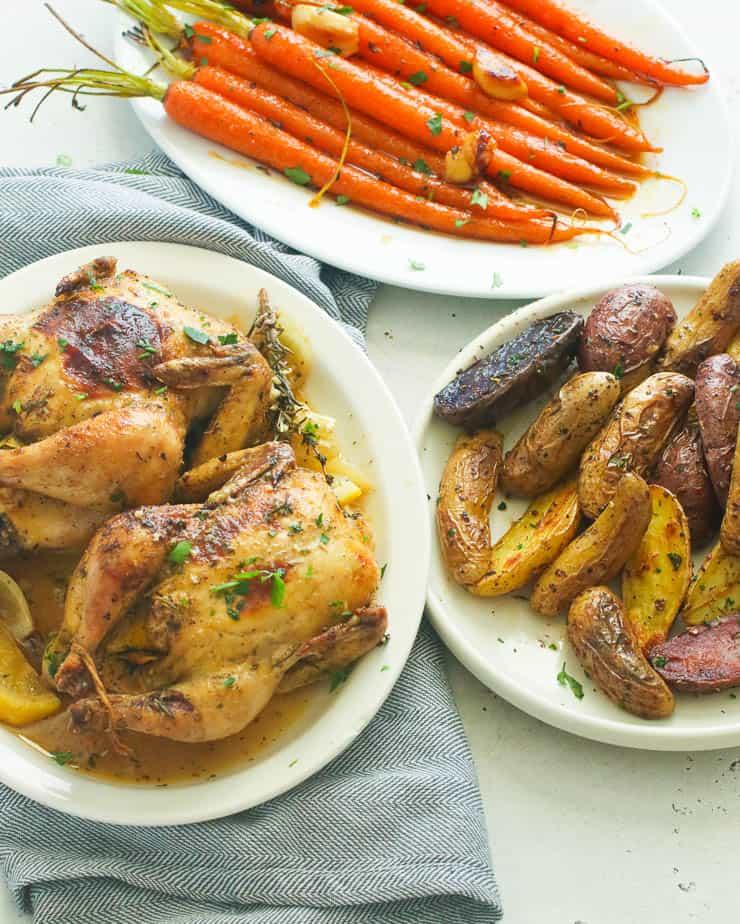 Roast Cornish Hens
