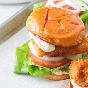 Homemade Fish Sandwich