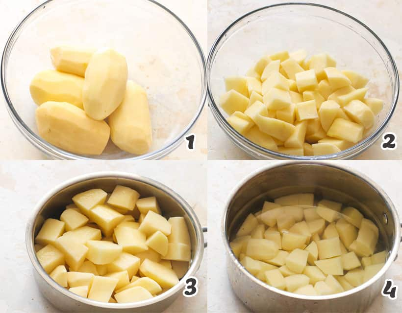 How To Boil Potatoes