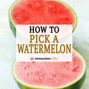 How to Pick a Watermelon