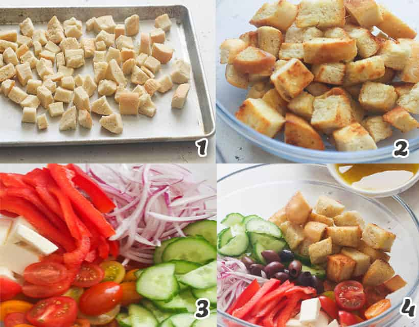 How To Make Panzanella Salad