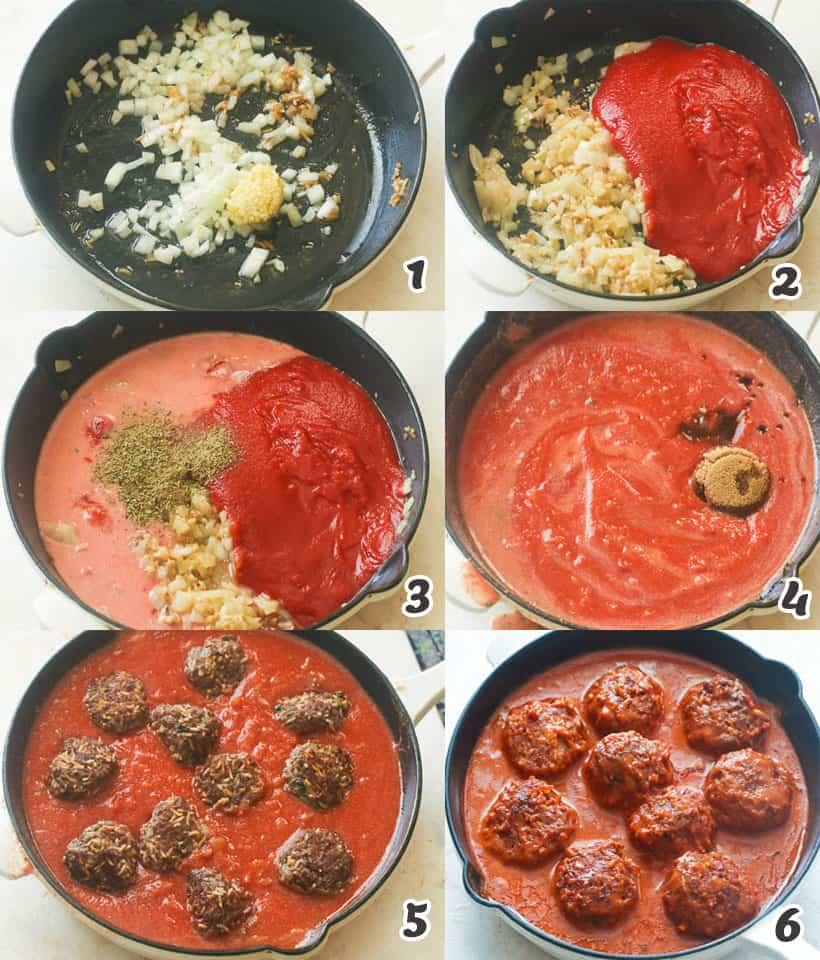 Porcupine Meatballs Sauce