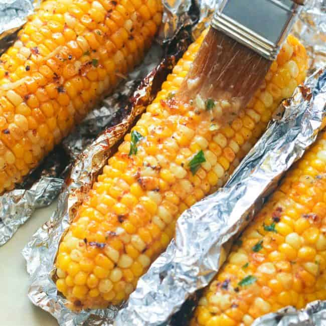 Cookout Food Ideas Corn on the Cob