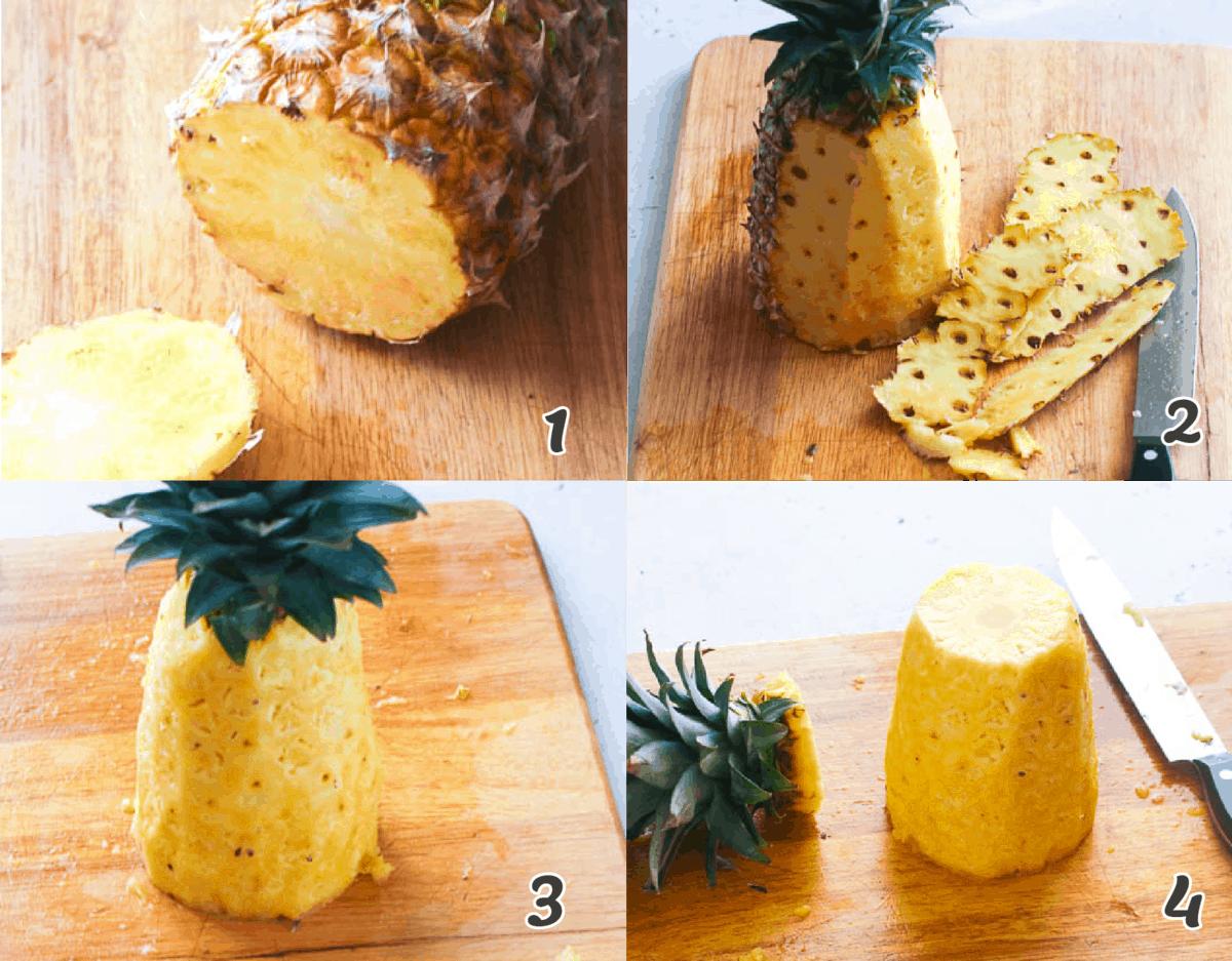 How to Peel a Pineapple