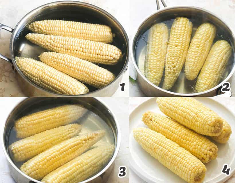 Plain Boiled Corn