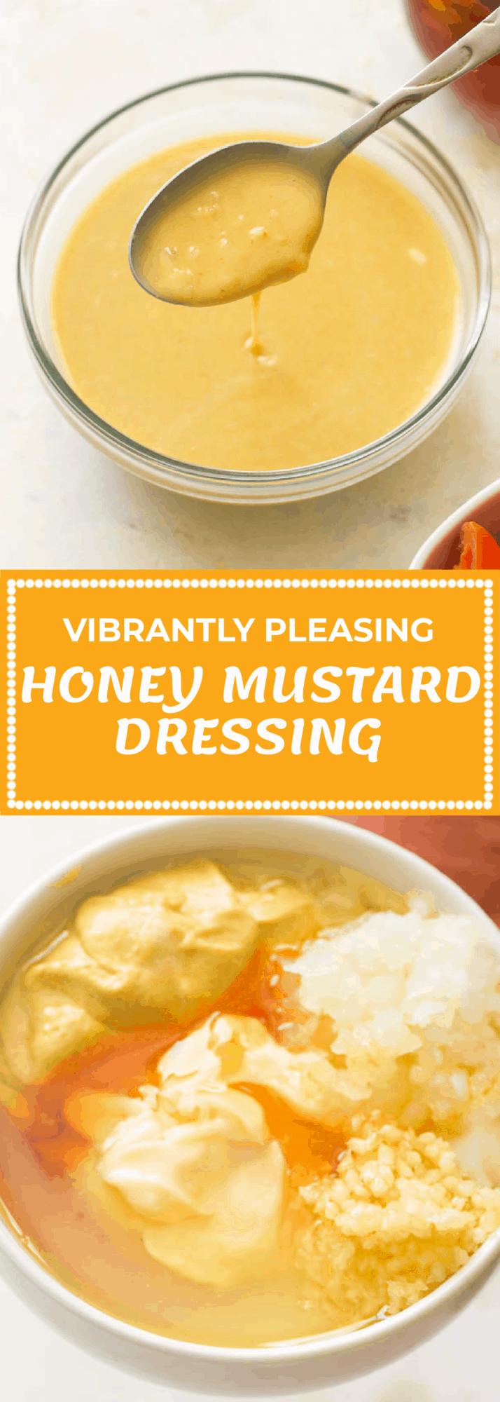How To Honey Mustard Dressing