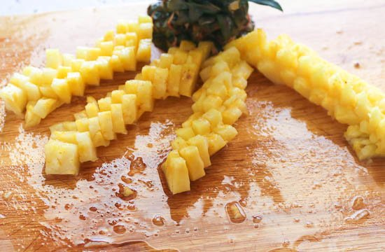 Diced Pineapples