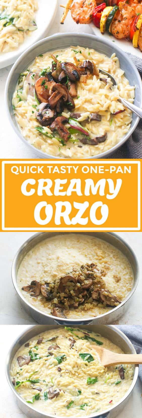Creamy Orzo