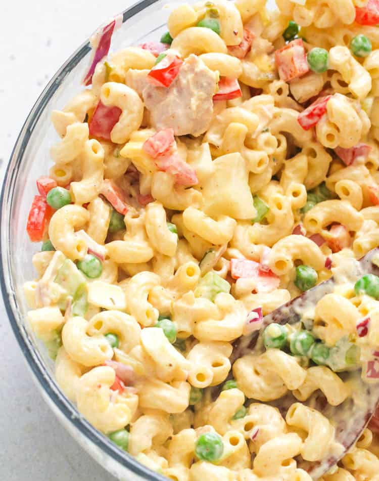 Tuna Macaroni Salad Immaculate Bites