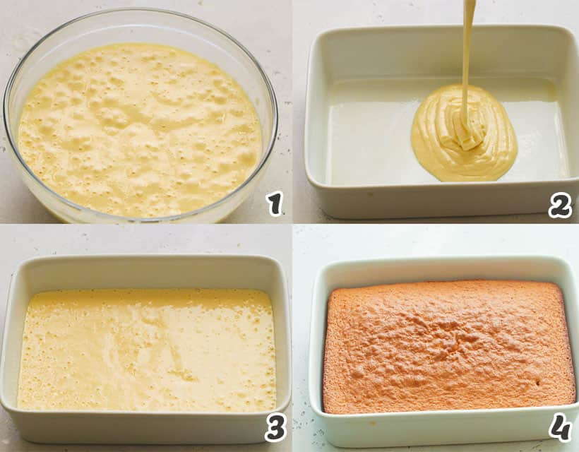 Tres Leches Cake Batter