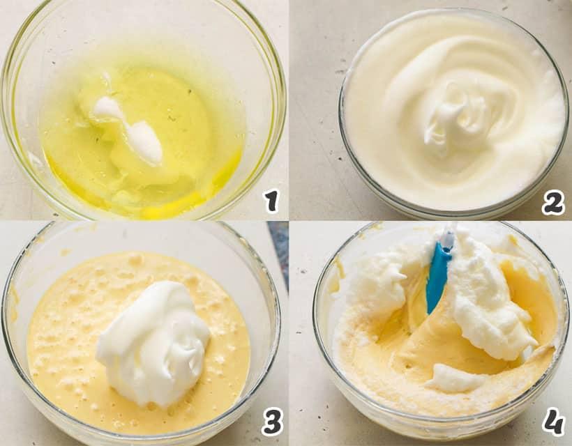 Tres Leches Cake - Egg White Mixture