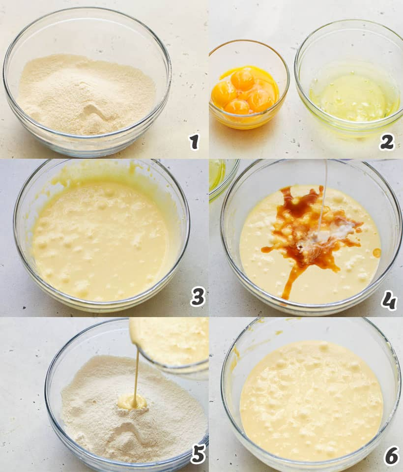 Tres Leches Flour Mixture
