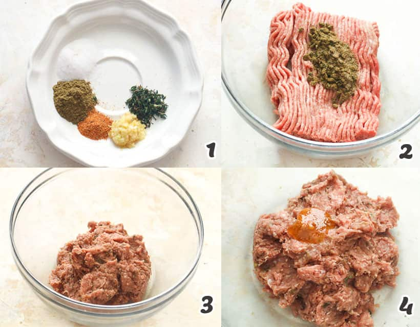 Turkey Sausage Mixture
