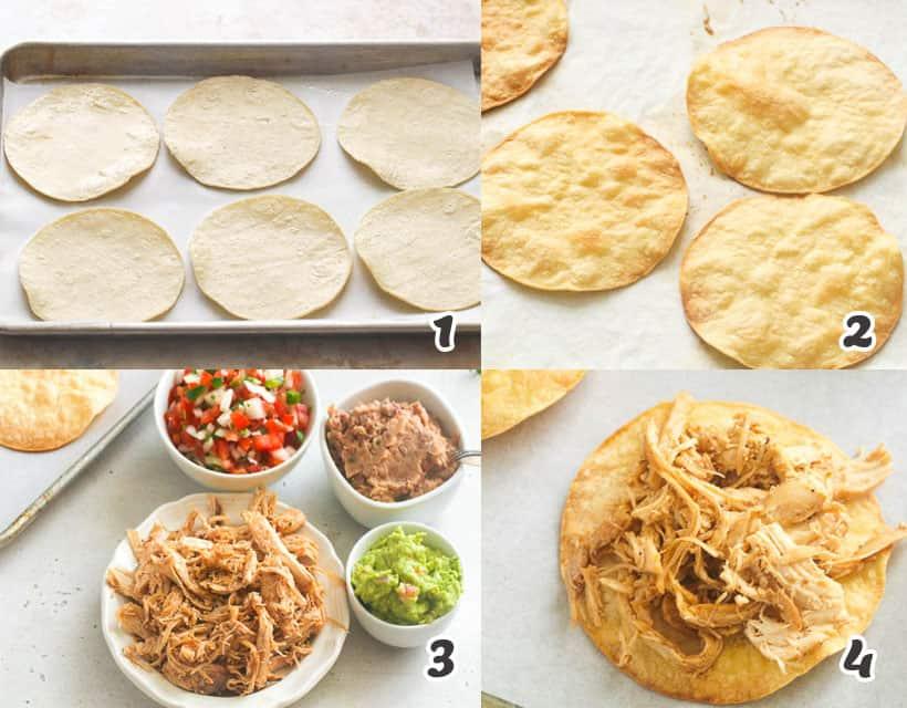 How To Make Chicken Tostadas