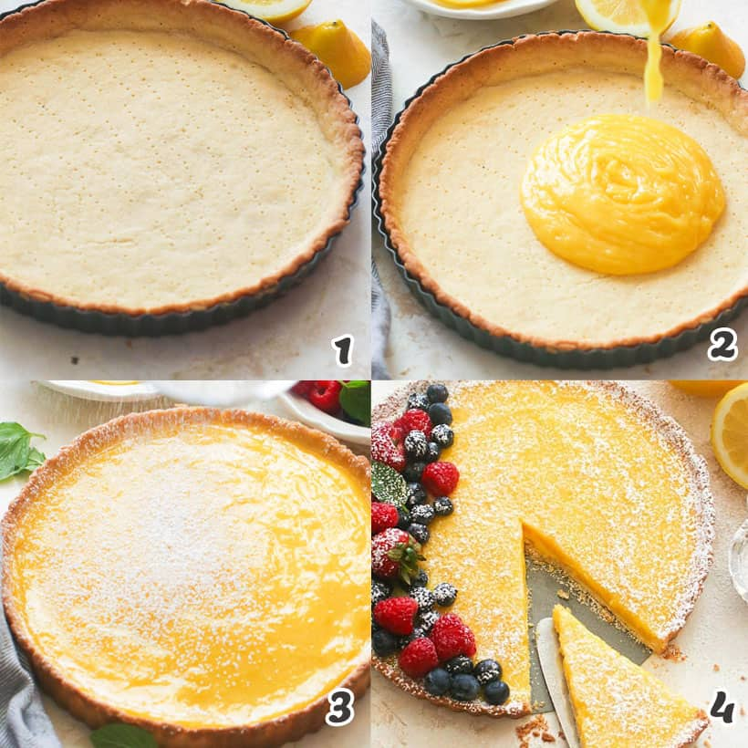How To Make Lemon Tart