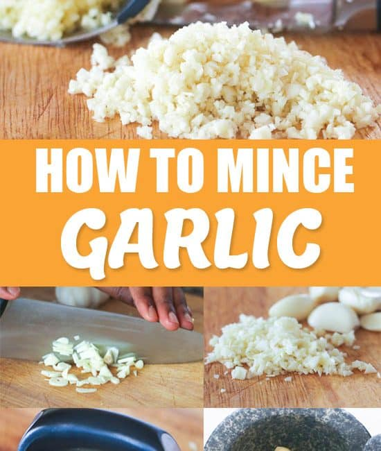 How To Mince Garlic