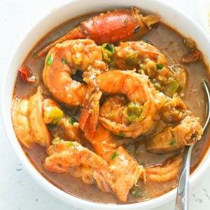 Seafood Gumbo Bowl