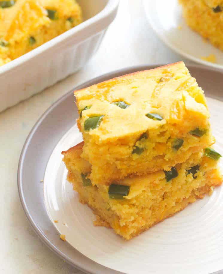 Baked Mexican Cornbread